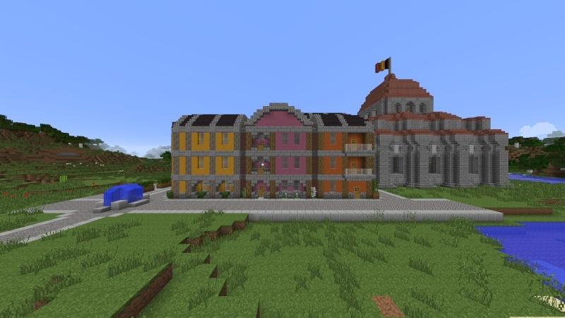 [Minecraft] Commencement d'une ville 2014-016