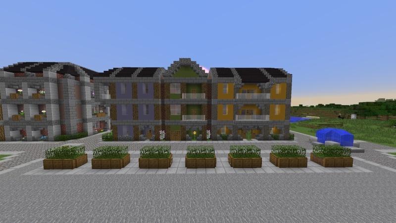 [Minecraft] Commencement d'une ville 2014-017