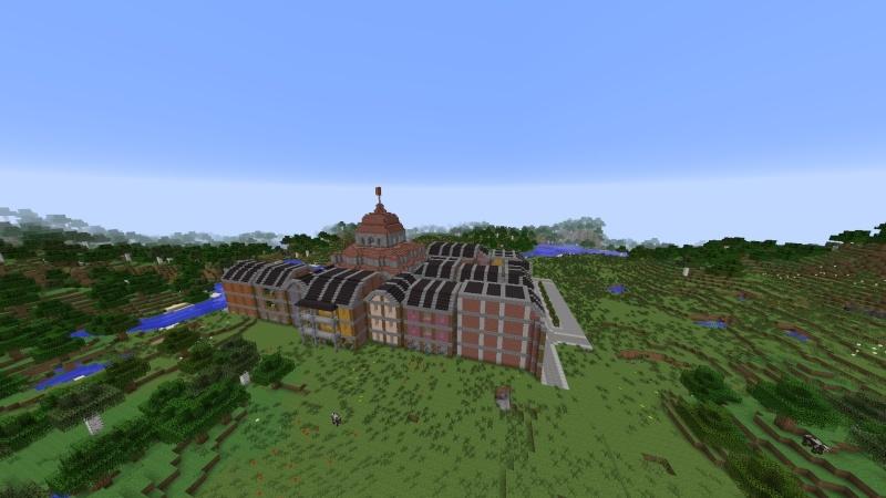 [Minecraft] Commencement d'une ville 2014-019