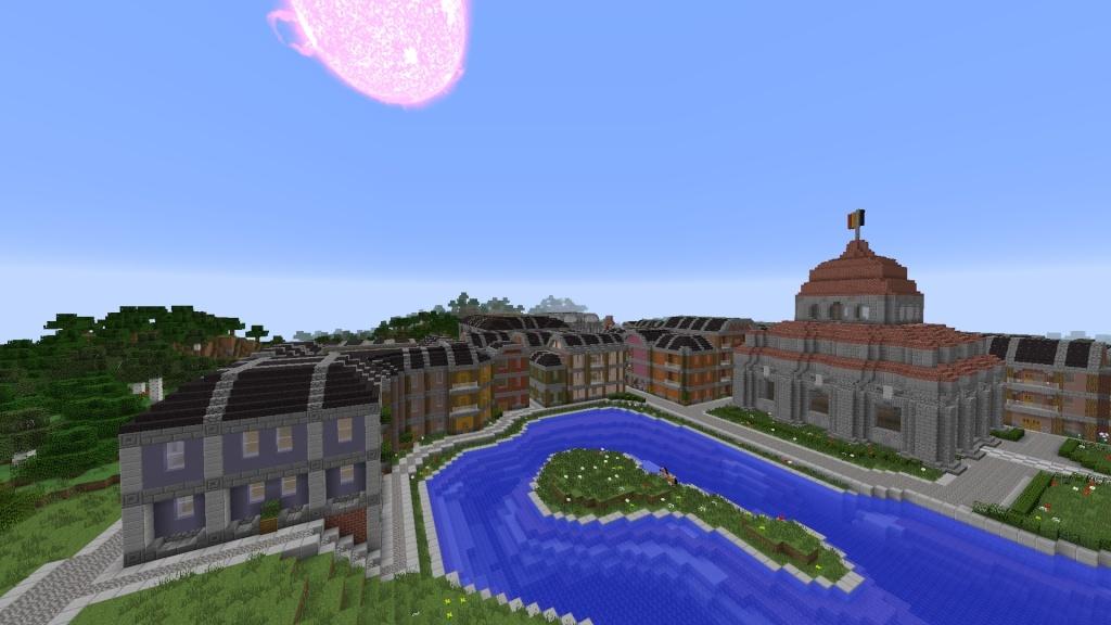 [Minecraft] Commencement d'une ville - Page 3 2014-024