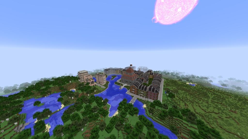 [Minecraft] Commencement d'une ville - Page 3 2014-025