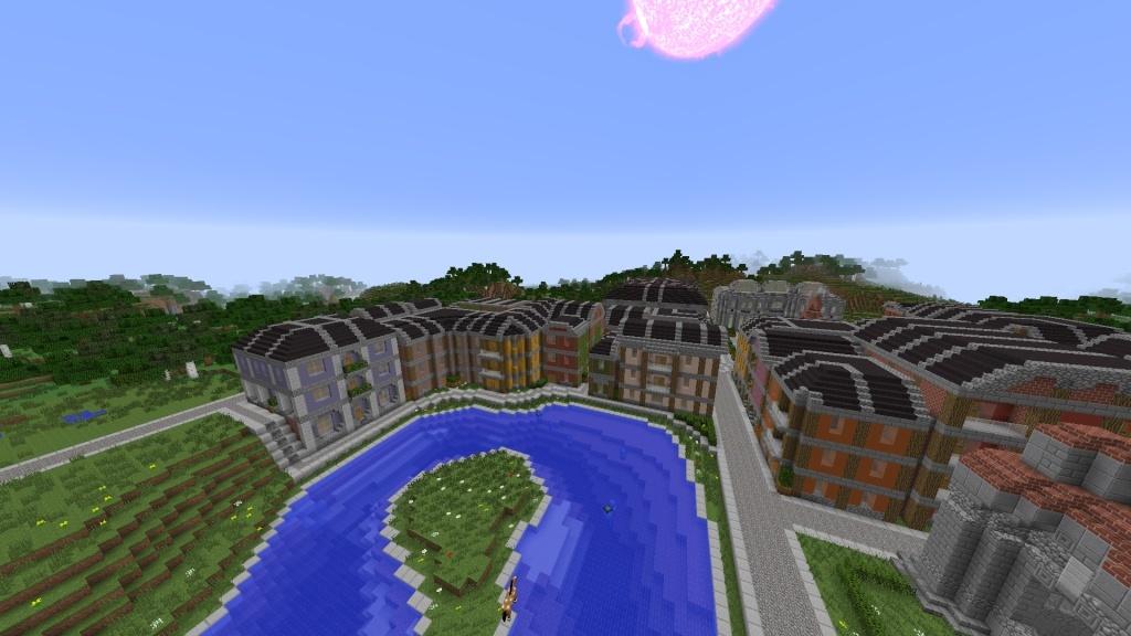 [Minecraft] Commencement d'une ville - Page 3 2014-026