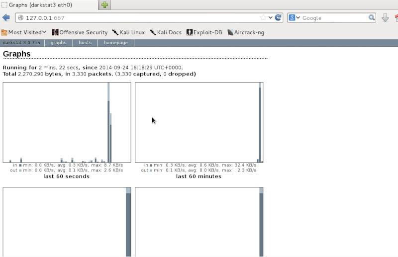 Manual de darkstat para Kali Linux Darkst12