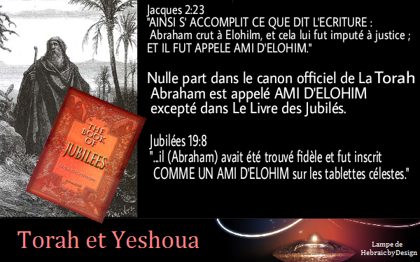 Abraham appelé Ami d'Elohim Abraha10