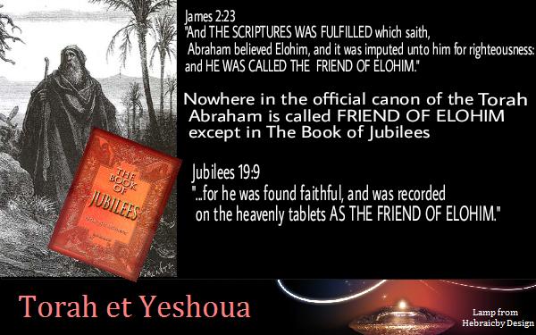 Abraham appelé Ami d'Elohim Abraha11
