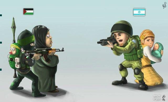 Contre offensive face à la propagande anti-Israélienne Differ11