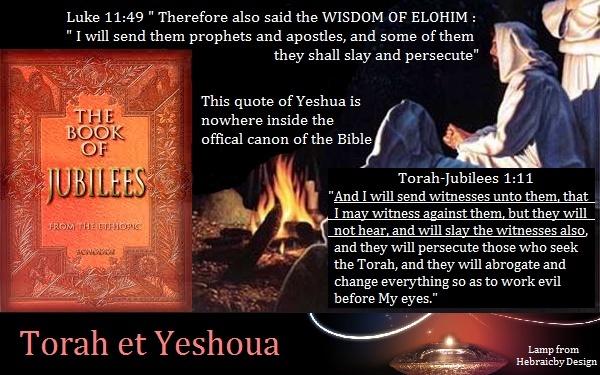 Citation des Jubilés - Yéshoua Jubile12