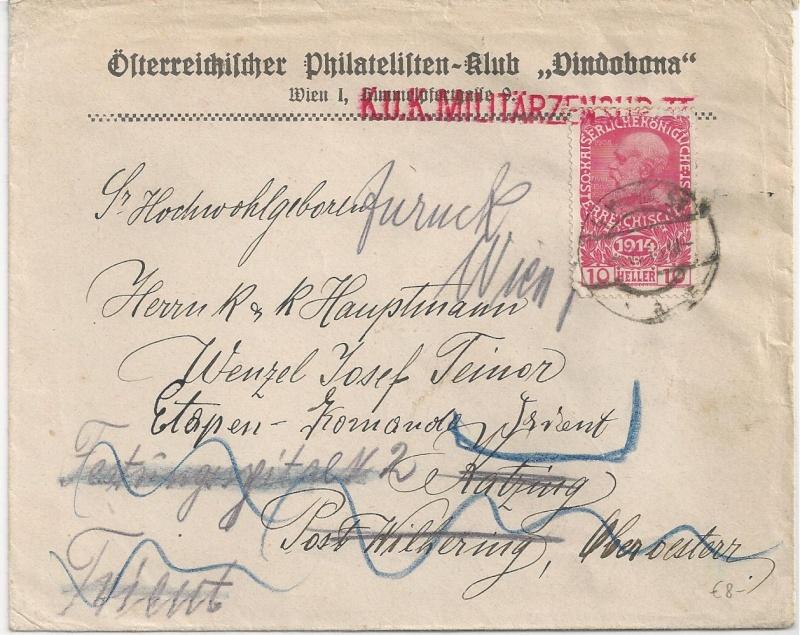 1914 - 1918   Der Untergang der K.u.K. Monarchie Bild10