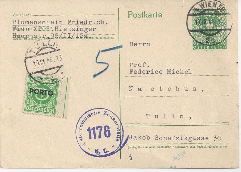 Wappenzeichnung  -  ANK 714-736 - Belege - Seite 2 Bild115