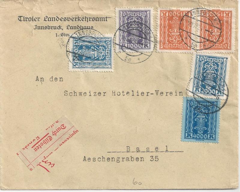 Inflation in Österreich - Belege - 1918 bis 1925 - Seite 2 Bild118