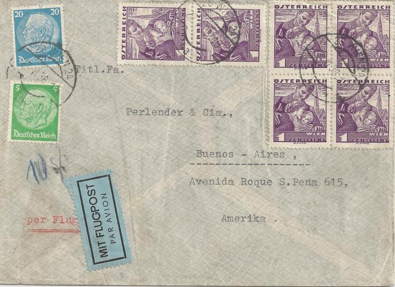 Österreich im III. Reich (Ostmark) Belege - Seite 4 Bild119