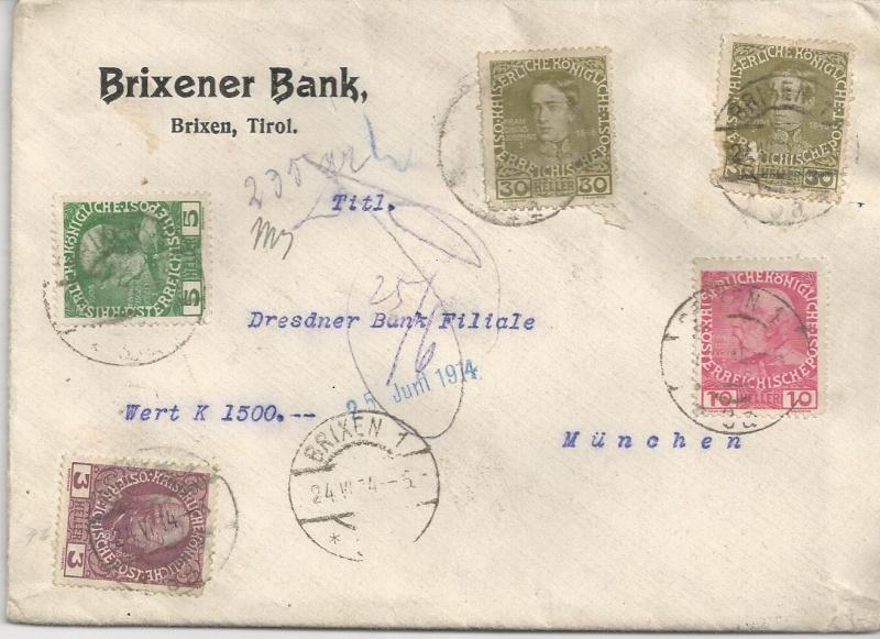 Briefe / Poststücke österreichischer Banken - Seite 2 Bild130