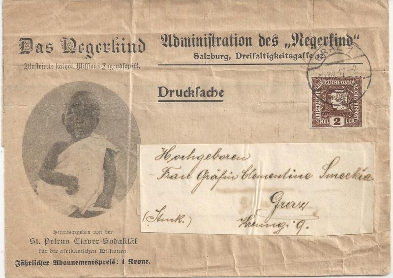 Werbeumschläge und -karten aus Österreich Bild143