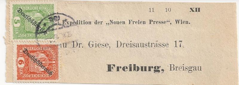 Inflation in Österreich - Belege - 1918 bis 1925 - Seite 3 Bild144