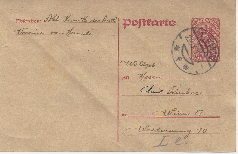 Inflation in Österreich - Belege - 1918 bis 1925 - Seite 3 Bild145