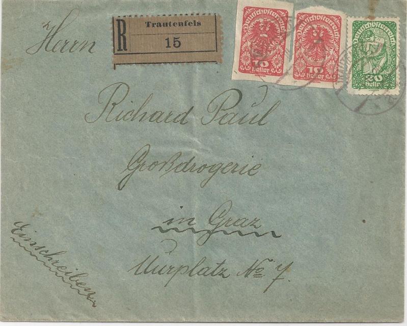 Inflation in Österreich - Belege - 1918 bis 1925 - Seite 3 Bild146