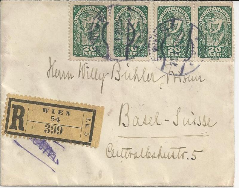 Inflation in Österreich - Belege - 1918 bis 1925 - Seite 3 Bild149