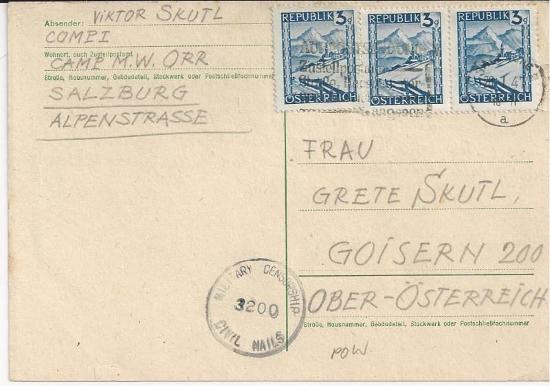 Wappenzeichnung  -  ANK 714-736 - Belege - Seite 2 Bild150