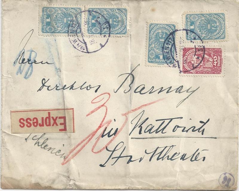 Inflation in Österreich - Belege - 1918 bis 1925 - Seite 2 Bild16