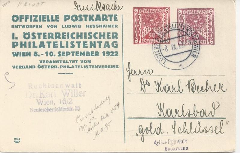 Inflation in Österreich - Belege - 1918 bis 1925 - Seite 2 Bild23