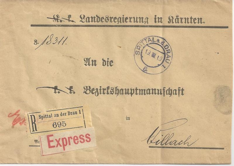 Inflation in Österreich - Belege - 1918 bis 1925 - Seite 2 Bild25
