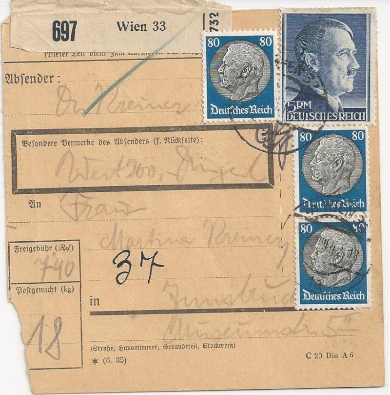 Österreich im III. Reich (Ostmark) Belege - Seite 2 Bild46