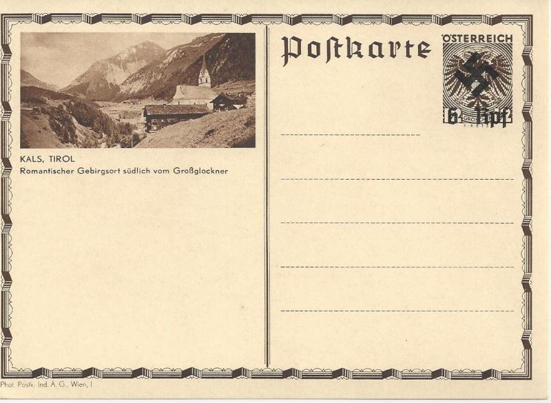 Österreich im III. Reich (Ostmark) Belege - Seite 3 Bild59