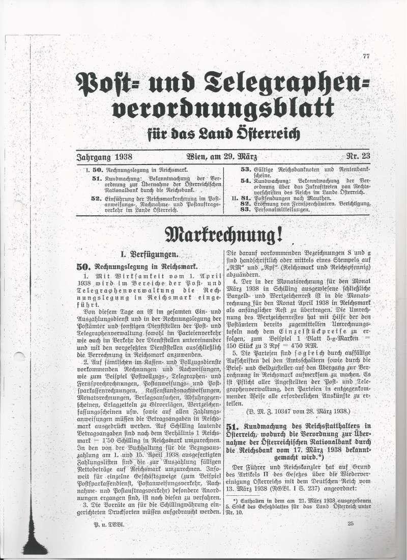 Österreich im III. Reich (Ostmark) Belege - Seite 4 Bild90