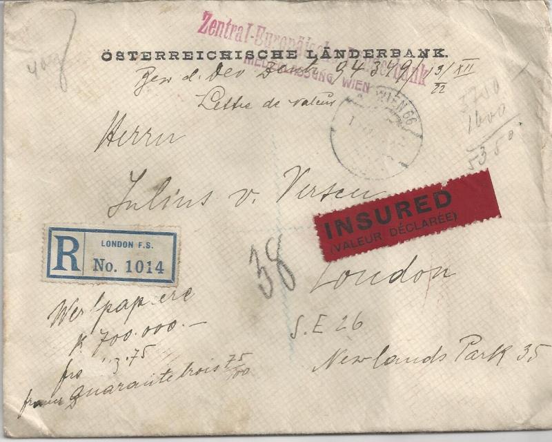 Briefe / Poststücke österreichischer Banken - Seite 2 Bild_104