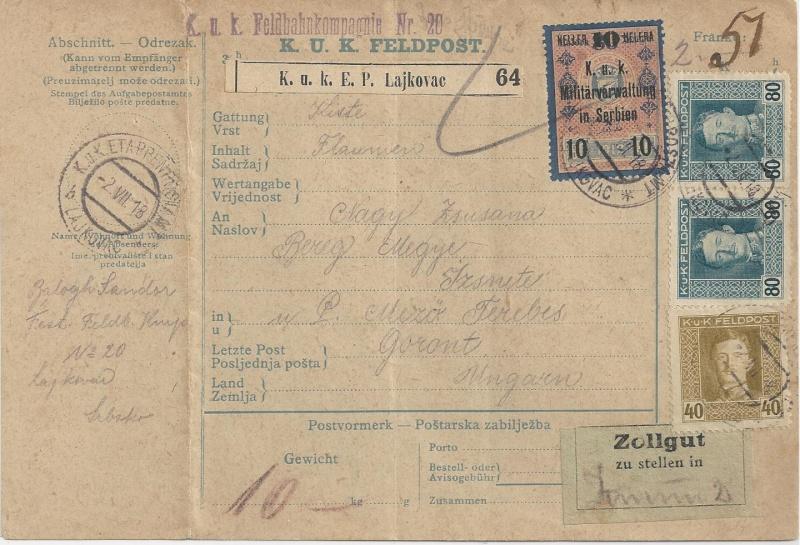1914 - 1918   Der Untergang der K.u.K. Monarchie - Seite 2 Bild_123