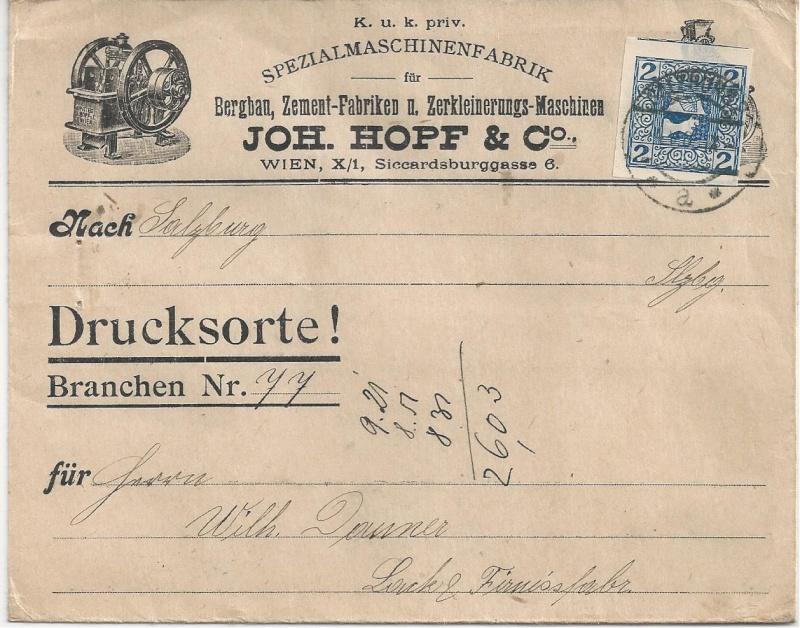 Werbeumschläge und -karten aus Österreich Bild_138