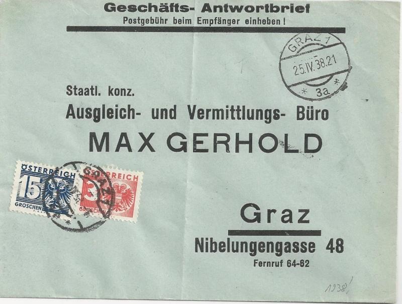 Österreich im III. Reich (Ostmark) Belege - Seite 5 Bild_139