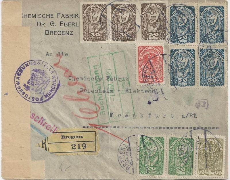 Inflation in Österreich - Belege - 1918 bis 1925 - Seite 3 Bild_145