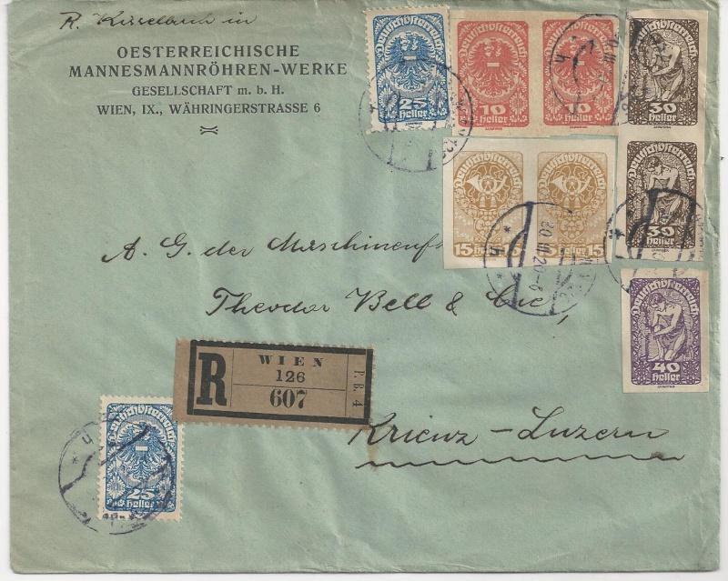 Inflation in Österreich - Belege - 1918 bis 1925 - Seite 3 Bild_147