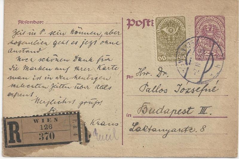 Inflation in Österreich - Belege - 1918 bis 1925 - Seite 3 Bild_149
