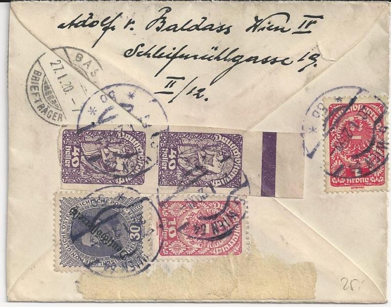 Inflation in Österreich - Belege - 1918 bis 1925 - Seite 3 Bild_151