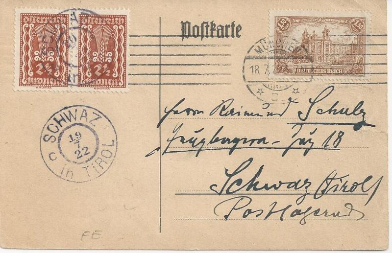 Inflation in Österreich - Belege - 1918 bis 1925 - Seite 2 Bild_243