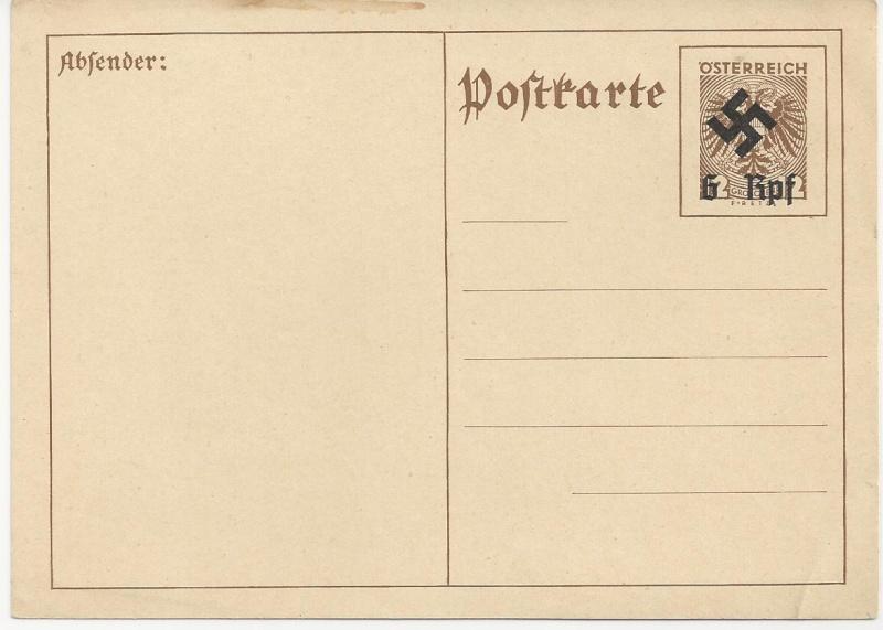 Österreich im III. Reich (Ostmark) Belege - Seite 3 Bild_250