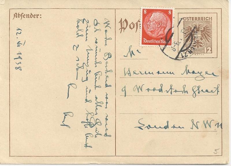 Österreich im III. Reich (Ostmark) Belege - Seite 3 Bild_254