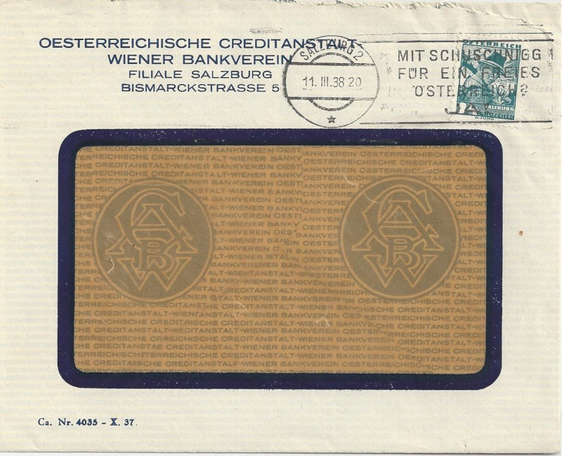 Österreich im III. Reich (Ostmark) Belege - Seite 4 Bild_279