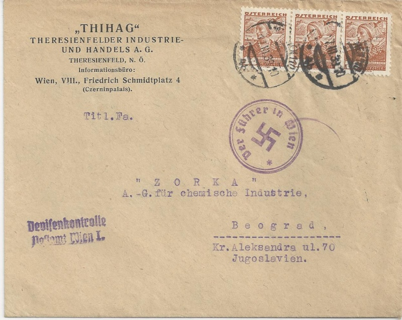 Österreich im III. Reich (Ostmark) Belege - Seite 4 Bild_282