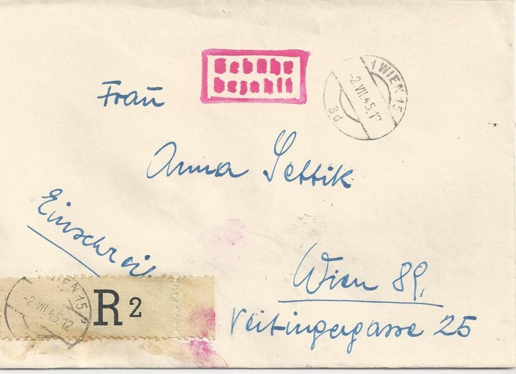 Wappenzeichnung  -  ANK 714-736 - Belege - Seite 2 Bild_298