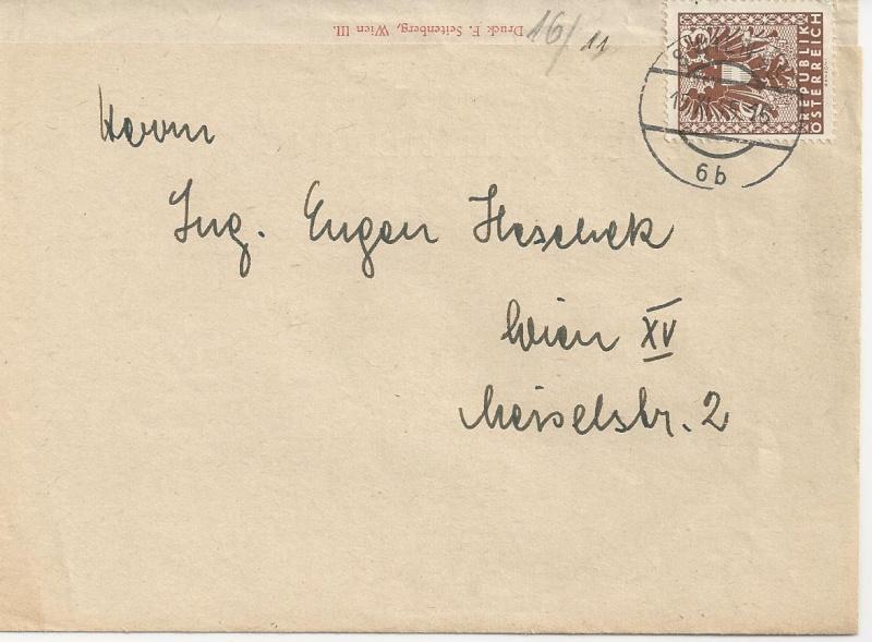 Deutsches Reich - Belege aus November 1945 Bild_321