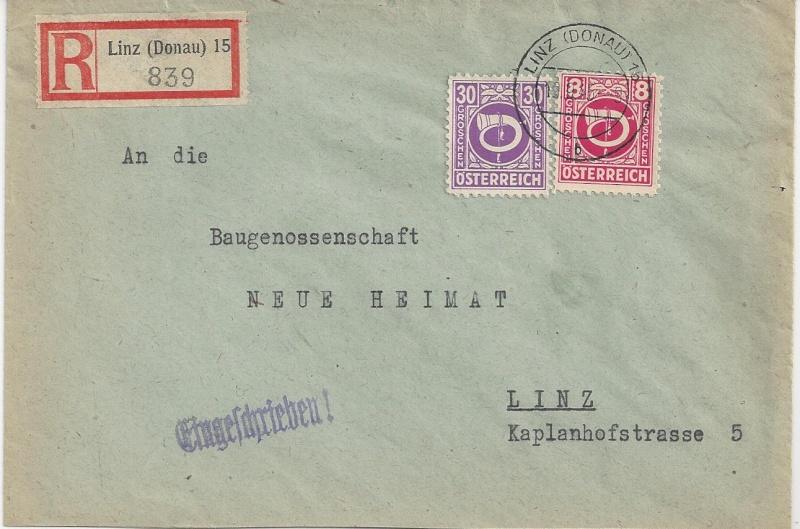 Deutsches Reich - Belege aus September 1945 Bild_324