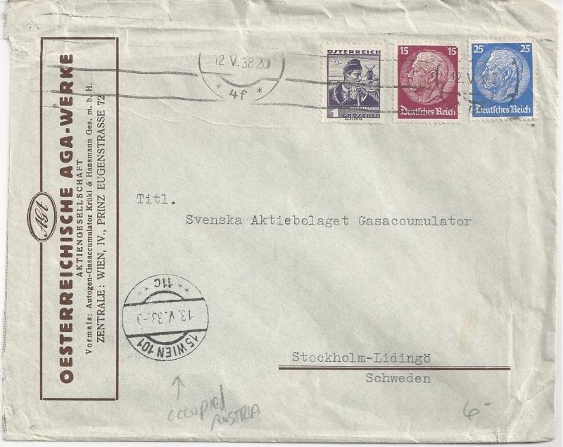Österreich im III. Reich (Ostmark) Belege - Seite 2 Bild_337
