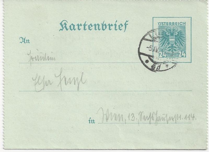 Österreich im III. Reich (Ostmark) Belege - Seite 3 Bild_343