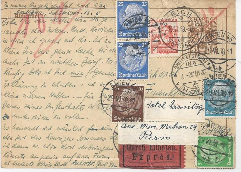Österreich im III. Reich (Ostmark) Belege - Seite 3 Bild_346