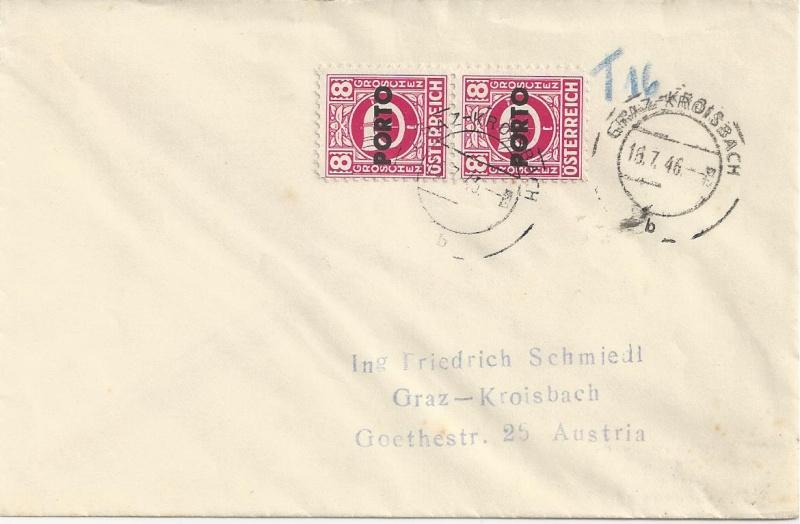 Verwendung von Portomarken in Österreich Bild_349