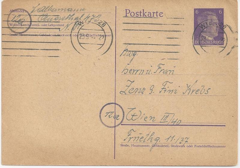 Österreich im III. Reich (Ostmark) Belege - Seite 3 Bild_354