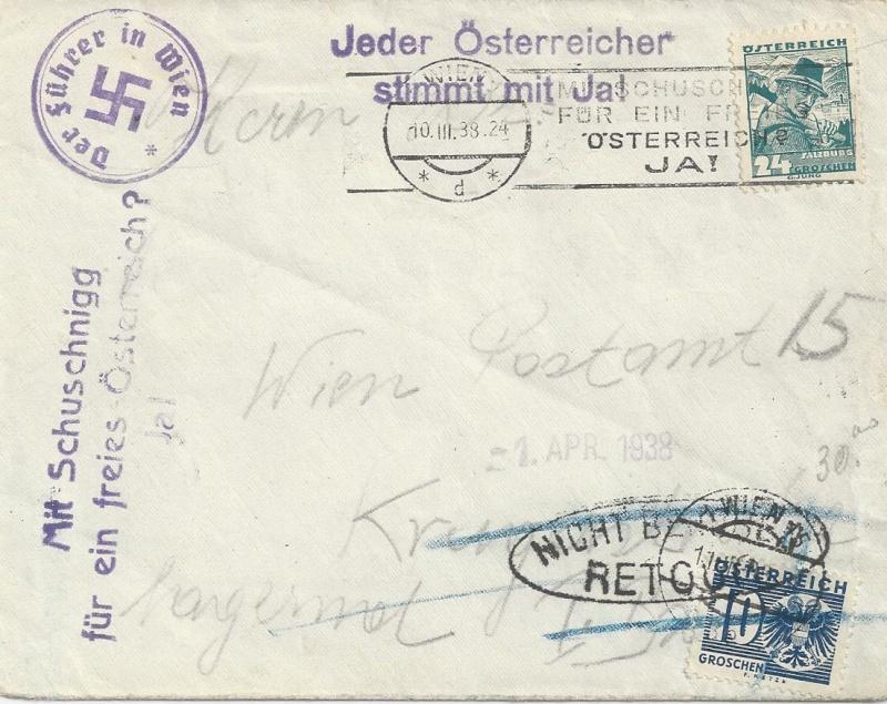 Österreich im III. Reich (Ostmark) Belege - Seite 4 Bild_365